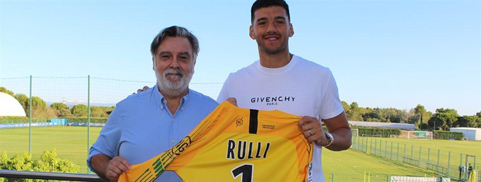 Gerónimo Rulli se marchó de la Real Sociedad y arribó a préstamo al Montpellier de Francia.