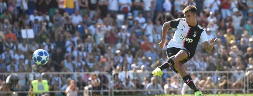 Paulo Dybala fue la figura en el último amistoso de la Juventus antes de comenzar la temporada oficial.