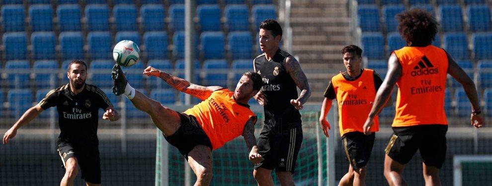 James Rodríguez ya sabe que la próxima temporada militará en el Real Madrid, por suerte o por desgracia