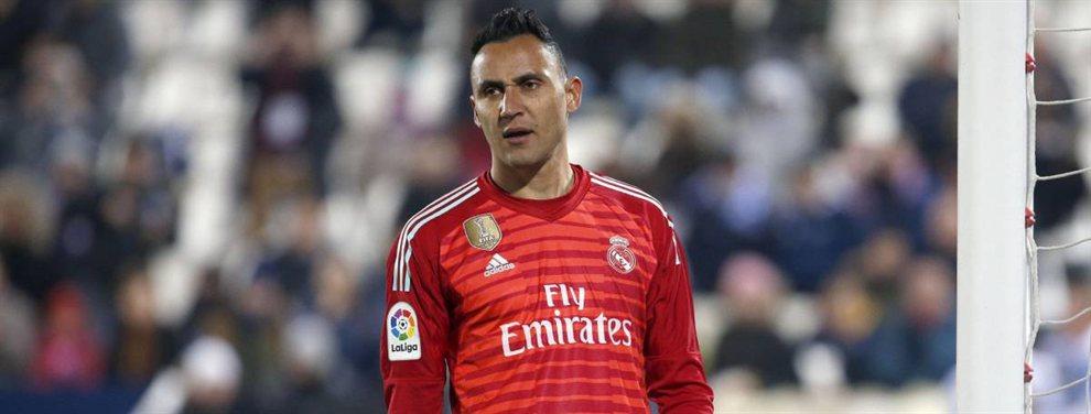 Keylor Navas dejará el Real Madrid el verano que viene y ya habría encontrado nuevo equipo
