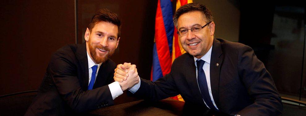Leo Messi está muy enfadado con el presidente del Barça, Bartomeu, por tres razones