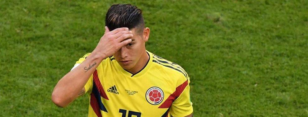 James Rodríguez podría acabar en el Milan, si Donarumma se va al PSG y el Milan recibe dinero