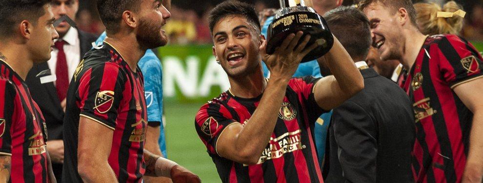 El Pity Martínez obtuvo su primer título en el Atlanta United al vencer al América de México en la Campeones Cup.