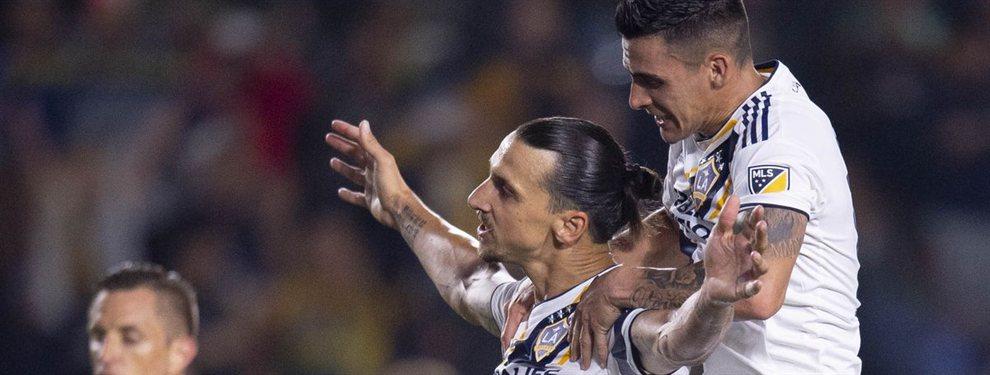 Zlatan Ibrahimovic se deshizo en elogios para Cristian Pavón luego de su actuación en el triunfo 2-0 de Los Angeles Galaxy ante Dallas.
