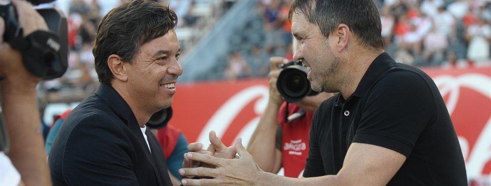 El historia entre Marcelo Gallardo y Eduardo Coudet es un motivo de preocupación para la Academia.