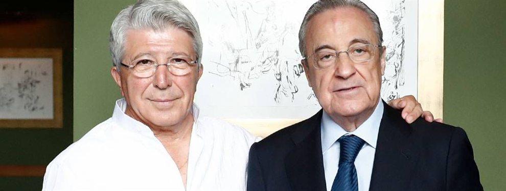 El Atlético empieza a impacientarse y Florentino empieza a sonreir