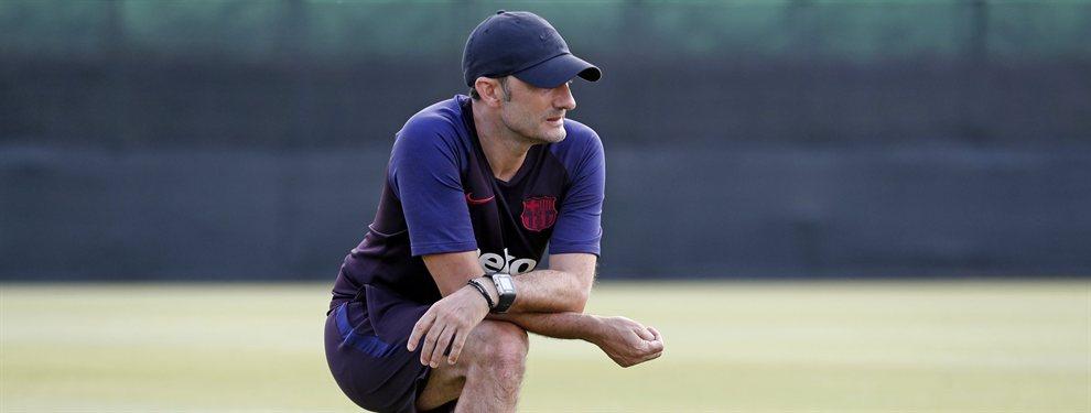 Ernesto Valverde ha dado la convocatoria del Barça para medirse al Athletic y se ha cargado a Arturo Vidal