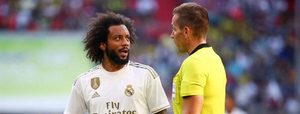 Achraf Hakimi llegará al Real Madrid el año que viene para jubilar a Marcelo, que ya ha entrado en declive