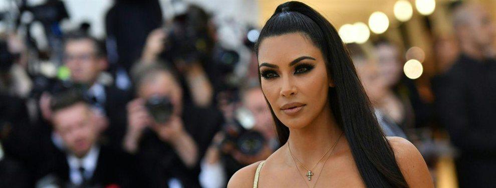 Kim Kardashian tuvo un descuido tremendo y se delató a sí misma usando Photoshop