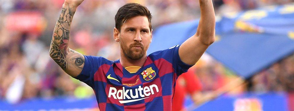 Lionel Messi se perderá el estreno del Barcelona en la Liga después de 10 años de su última ausencia.