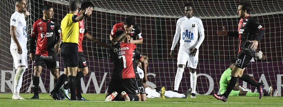 Colón derrotó a Zulia de Venezuela y clasificó a las semifinales de la Copa Sudamericana 2019.