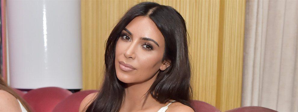 """""""¡No viste nada igual!"""" Kim Kardashian con un mono ceñidísimo (y hay vídeo)"""