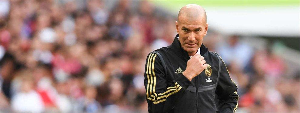 Con Neymar prácticamente descartado, Zidane ha pedido que se empiece a trabajar en un sustituto para enero.