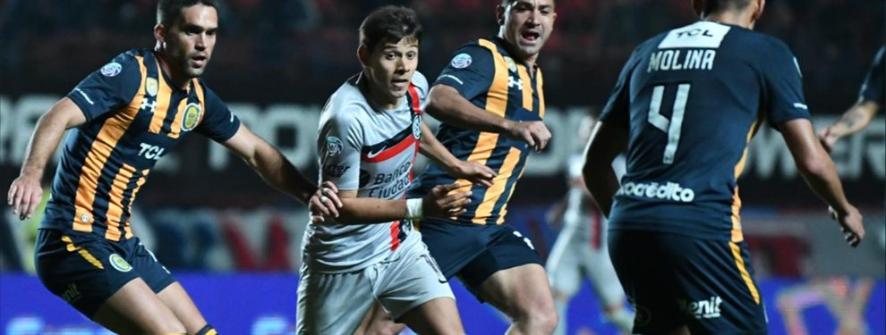 San Lorenzo lo remontó ante Rosario Central e igualó 2 a 2 en el Nuevo Gasómetro.