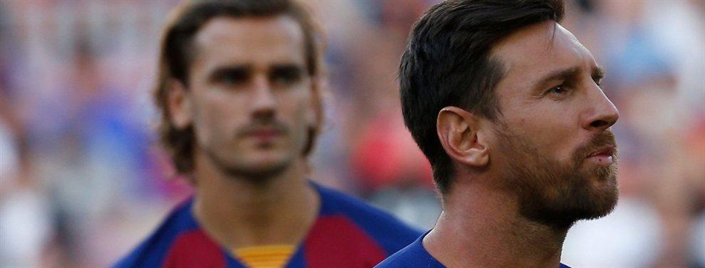 Griezmann ha llegado con mucha fuerza al Barcelona al ser el fichaje más importante para esta temporada.