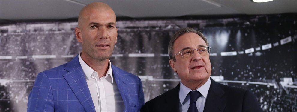 Zinedine Zidane quiere cargarse a Luka Jovic, mientras que Florentino Pérez desea quedárselo