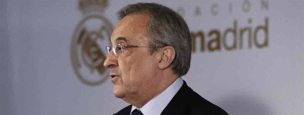 Florentino Pérez ha acordado con Kylian Mbappé las condiciones para su fichaje en 2020