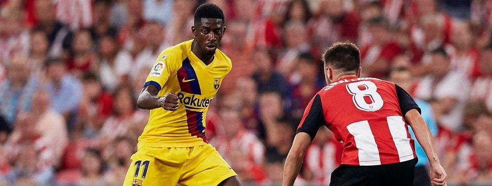 Ousmane Dembelé ha vuelto a caer lesionado, lo que ha colmado con la paciencia en el Barça