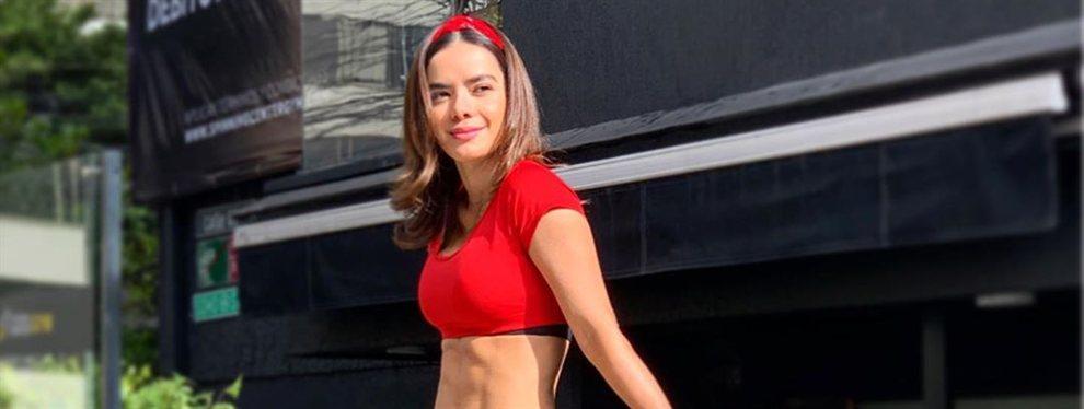La actriz y también bailarina Elianis Garrido se marca un bailecito de lo más sensual.