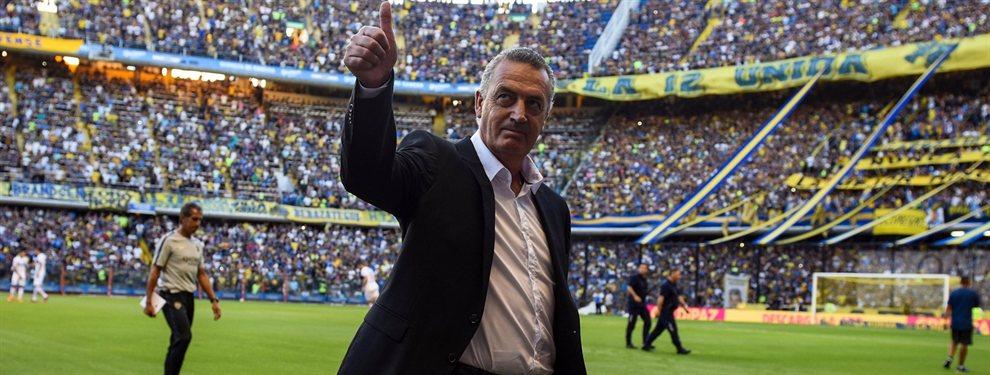 Gustavo Alfaro habría definido la formación de Boca para visitar a Liga de Quito por la Copa Libertadores.
