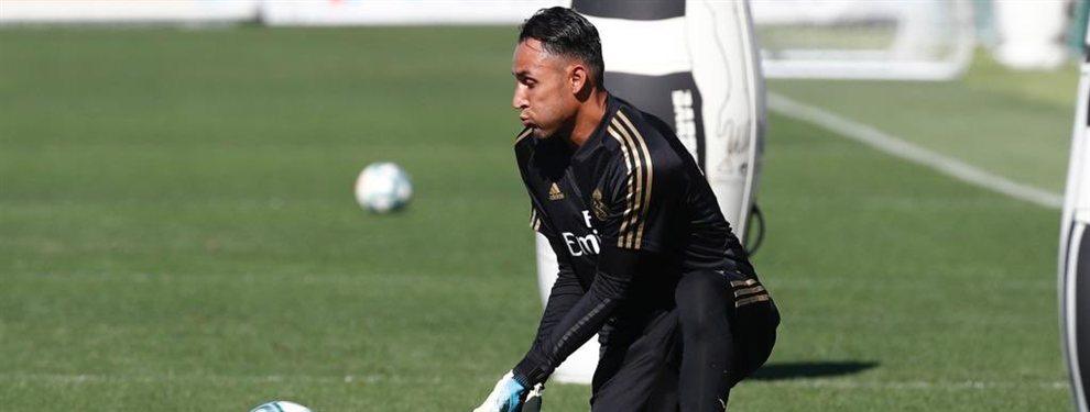 El Paris Saint-Germain puede pescar en el Real Madrid y llevarse a Keylor Navas, por el que pagaría 10 millones