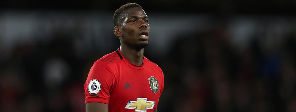 Paul Pogba parece que va a renovar su contrato con el Manchester United, olvidándose del Real Madrid