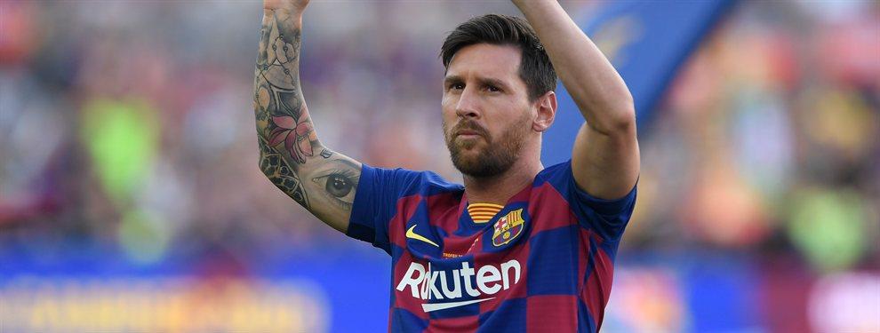 El Barça está negociando por Gideon Mensah, del Salzburgo, que no cuenta con el visto bueno de Messi