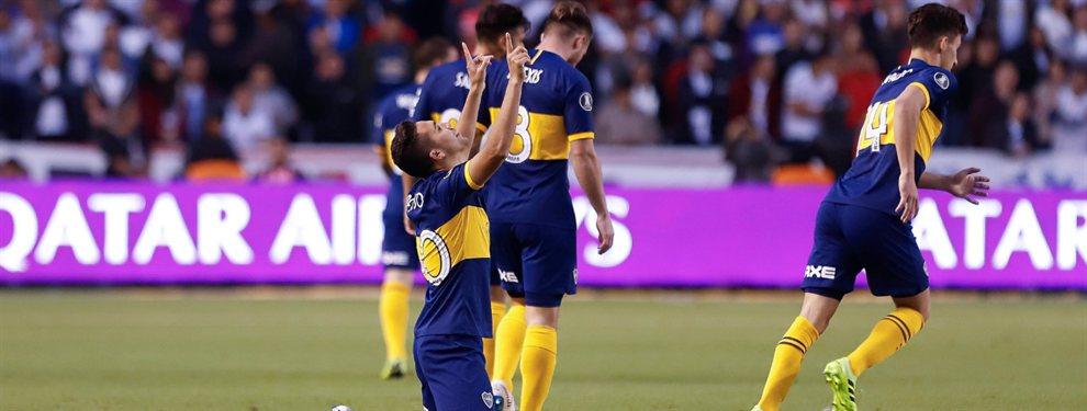 En la altura de Ecuador, Boca derrotó 3-0 a Liga de Quito por el duelo de ida de los cuartos de final de la Copa Libertadores.