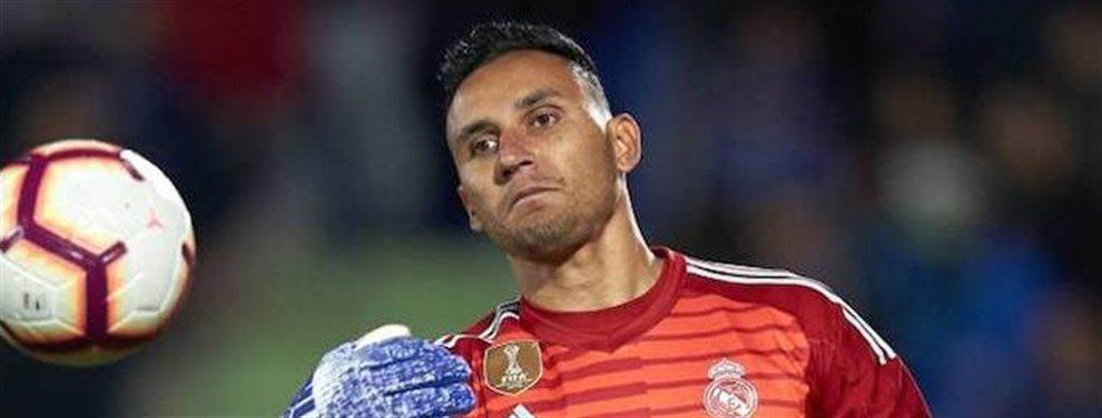 Keylor Navas pide salir ahora del Real Madrid y el equipo blanco se encuentra de repente en un callejón sin salida