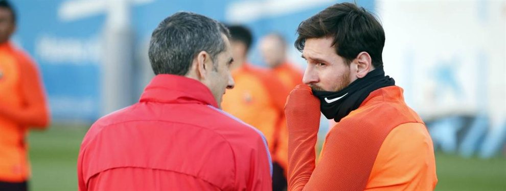 Ernesto Valverde medita seriamente dejar en el banquillo a Luis Suárez para dar la titularidad a Griezmann