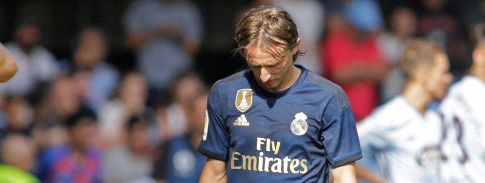 Florentino Pérez medita incluir a Luka Modric en la operación por Kylian Mbappé el año que viene