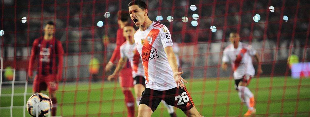 En el Monumental, River se impuso frente a Cerro Porteño en el encuentro de ida de los cuartos de final de la Copa Libertadores.