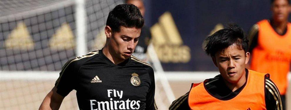 El Real Madrid ha recibido una nueva oferta del Napoli de Carlo Ancelotti por James Rodríguez