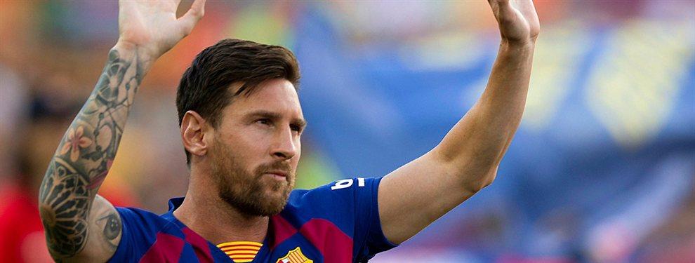 ¡Si le vendes, el que se va soy yo! Leo Messi corta de raíz una salida: su compañero duda de su titularidad y quiere garantías de Ernesto Valverde