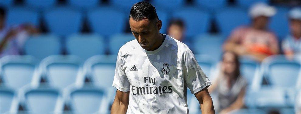 Keylor Navas saldrá del Real Madrid y Florentino Pérez ya tiene hasta cinco nombres para relevarle