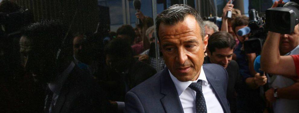 Jorge Mendes ofreció a Florentino Pérez los servicios de Gonçalo Guedes y de Bruno Fernandes