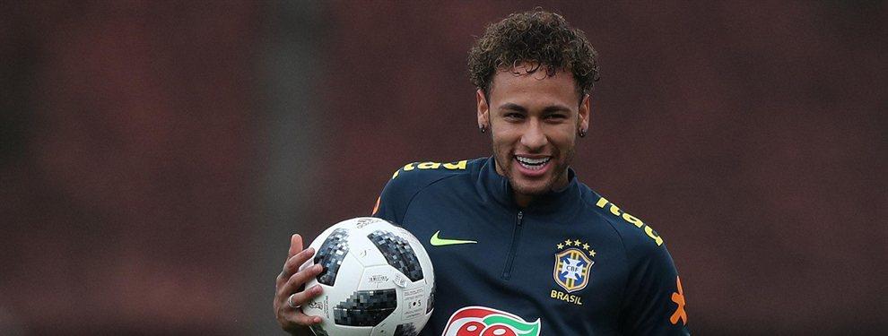 Neymar Junior habría pedido a Florentino Pérez el fichaje de Felipe Anderson para el Real Madrid
