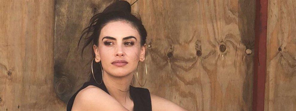 La actriz Jessica Cediel se pasa de natural con una fotografía que roza el desaliño.