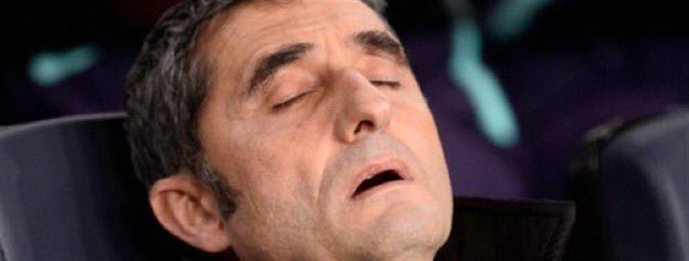 EL jugador ya piensa en su nuevo equipo y eso hace que Valverde se replantee la temporada
