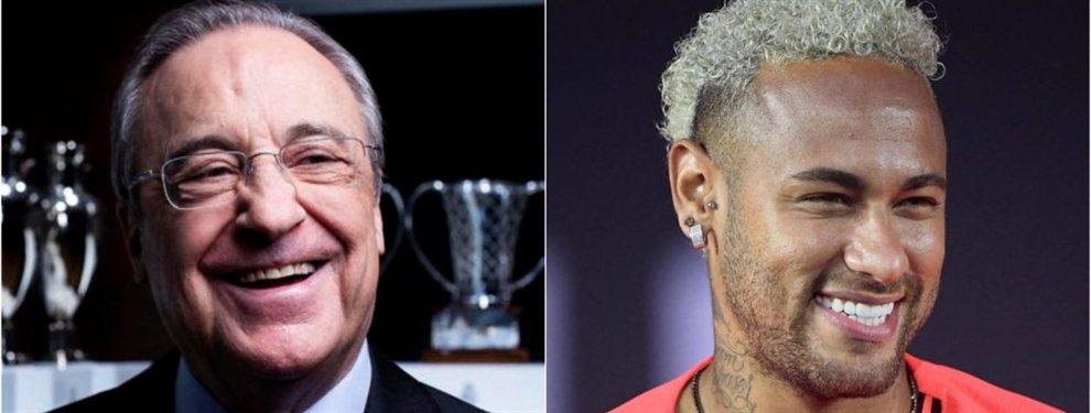 Florentino Pérez sabe que Neymar puede escaparse y ha reactivado el fichaje de Gonçalo Guedes