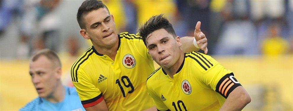 Carlos Queiroz convocó a Rafael Santos Borré para los amistosos de septiembre de la selección de Colombia.