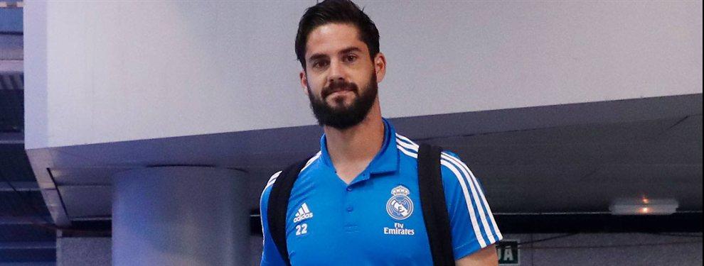 Isco está fuera del Madrid y Florentino no aguanta más. Su enfado es monumental