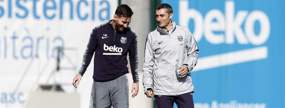 Ernesto Valverde y Leo Messi han pactado la salida de Rafinha Alcántara para que deje espacio en la plantilla