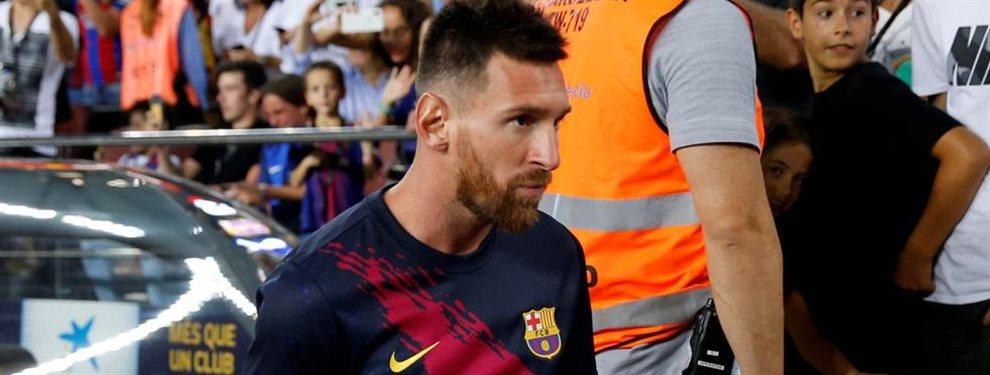 La recuperación de Lionel Messi va más lenta de lo esperado y deberá aguardar más tiempo para debutar en la temporada.