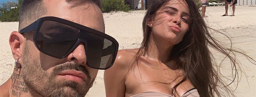 ¡Vaya foto brutal!: Greeicy Rendón en bikini y al natural ¡Ni Rihanna!: la cantante pasa unos días en el paraíso ¡muy apretadita a Mike Bahía!