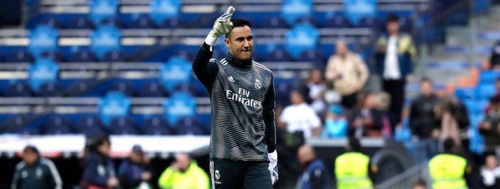 Keylor Navas apunta al Paris Saint-Germain y su salida acercaría a otro jugador al Real Madrid
