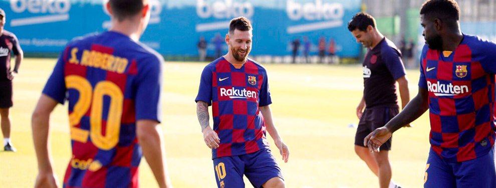 Leo Messi quiere echar a Ousmane Dembélé para que acabe en el PSG e intentan convencerle