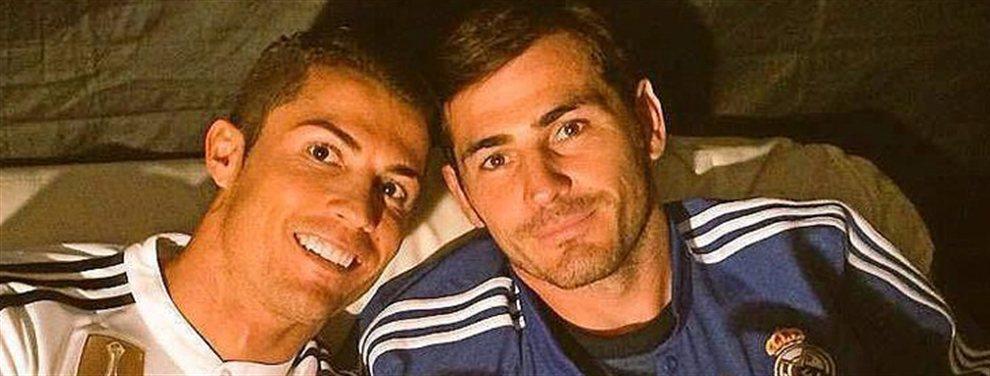 Iker Casillas realiza una llamada a Cristiano para que vuelva al Real Madrid este mismo año