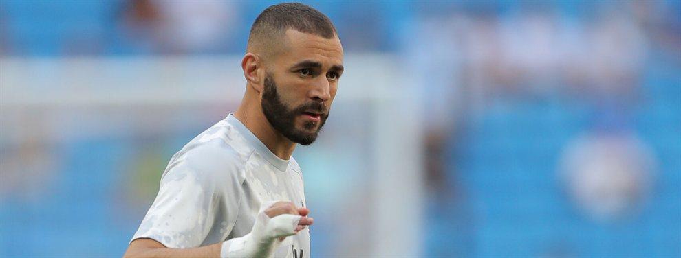 Karim Benzema se ha enterado del rumor que tiene como protagonista a Mauro Icardi y lo ha vetado
