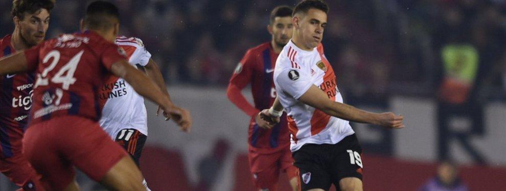 River y Cerro Porteño se enfrentan en Asunción por el encuentro de vuelta de los cuartos de final de la Copa Libertadores.